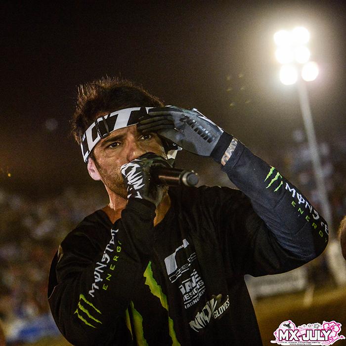 Edgar Torrentas présent au Supercross de l'Yonne 2016