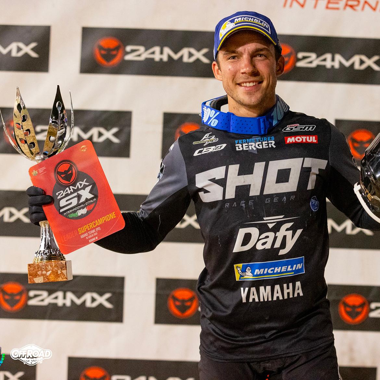 Thomas Ramette - Victoire lors de l'ouverture du Championnat d'Italie de Supercross 2021