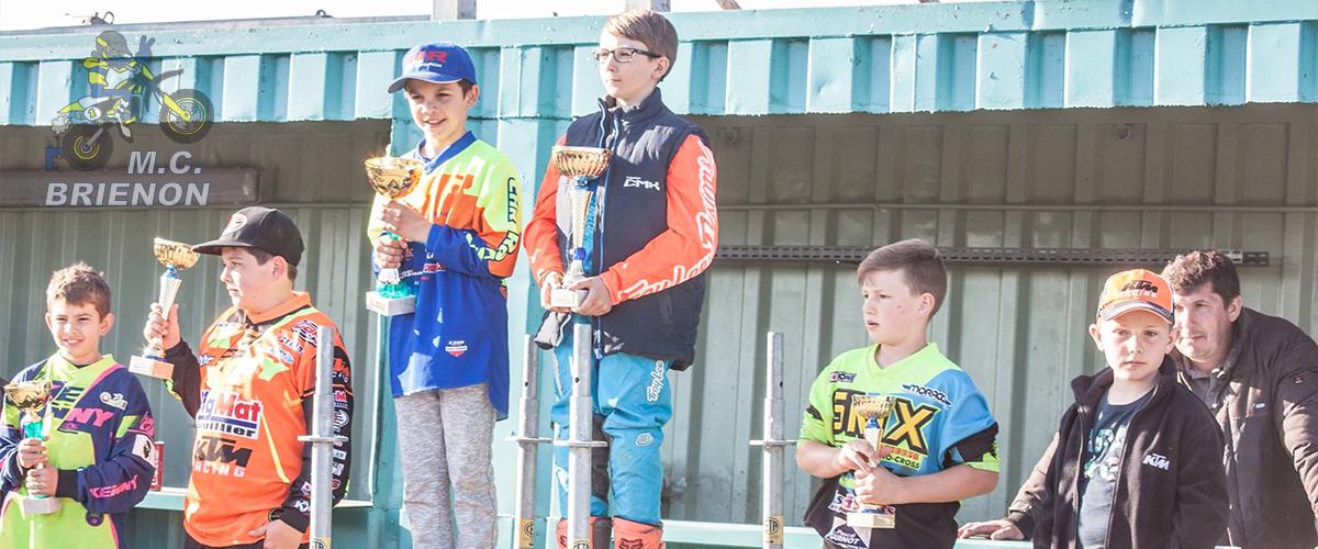 Moto Club Brienon - Championnat Bourgogne Franche-Comté Trophée Ouest - Résultats 2017