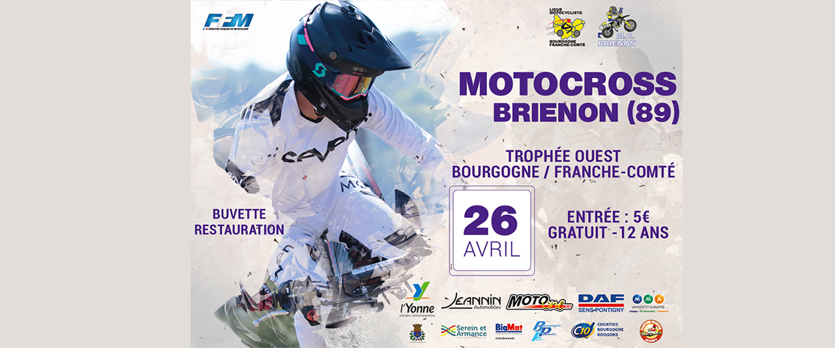 Annulation du Motocross du 26 Avril 2020 Trophée BFC Ouest suite pandemie coronavirus