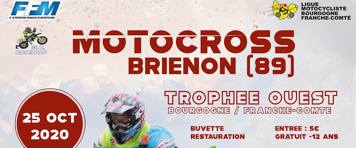 Nouvelle date pour le Motocross Trophée Ouest BFC à Brienon