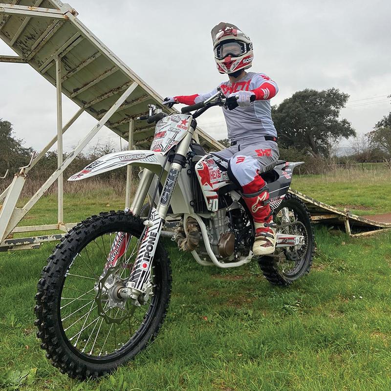 Brice Izzo - Pilote du Moto Club Brienon