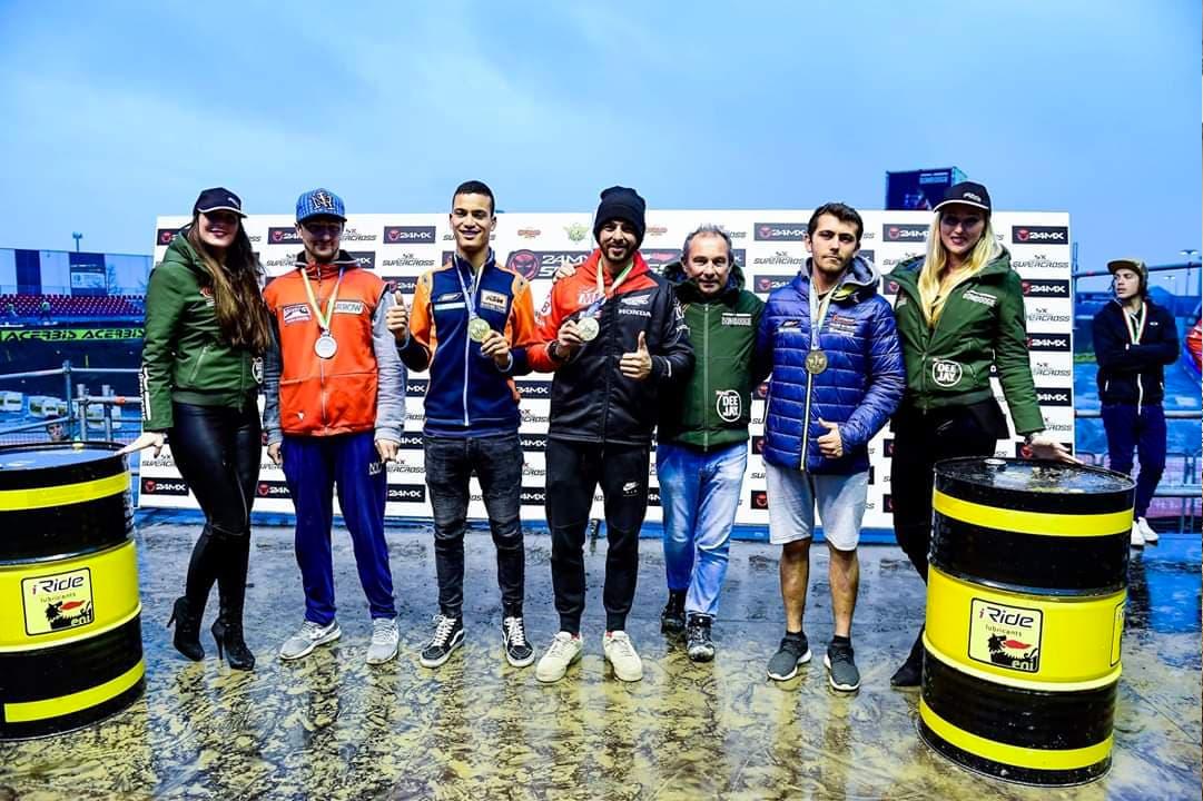 Christophe Martin - Vice Champion Italie Supercross 2018