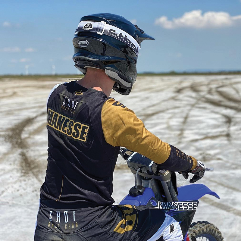 Paul Manesse - Pilote du Moto Club Brienon