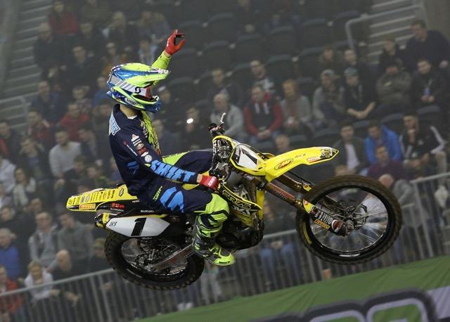 Thomas Ramette - ArenacrossUK 2017 - Double podium à Belfast