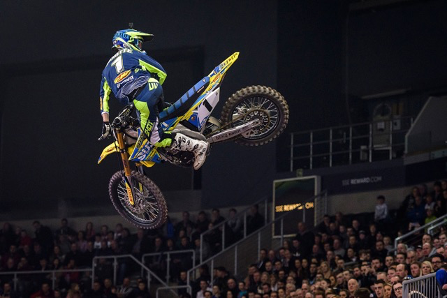 Thomas Ramette - ArenacrossUK 2018 à Sheffield