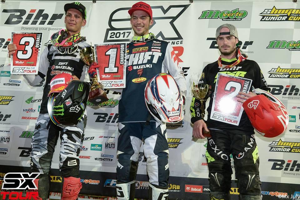 Thomas Ramette - Champion de France Supercross Outdoor 2017