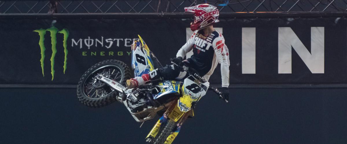 Thomas Ramette - Supercross de Paris 2017