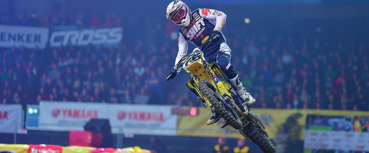Thomas Ramette - Deuxième place au Supercross de Stuttgart
