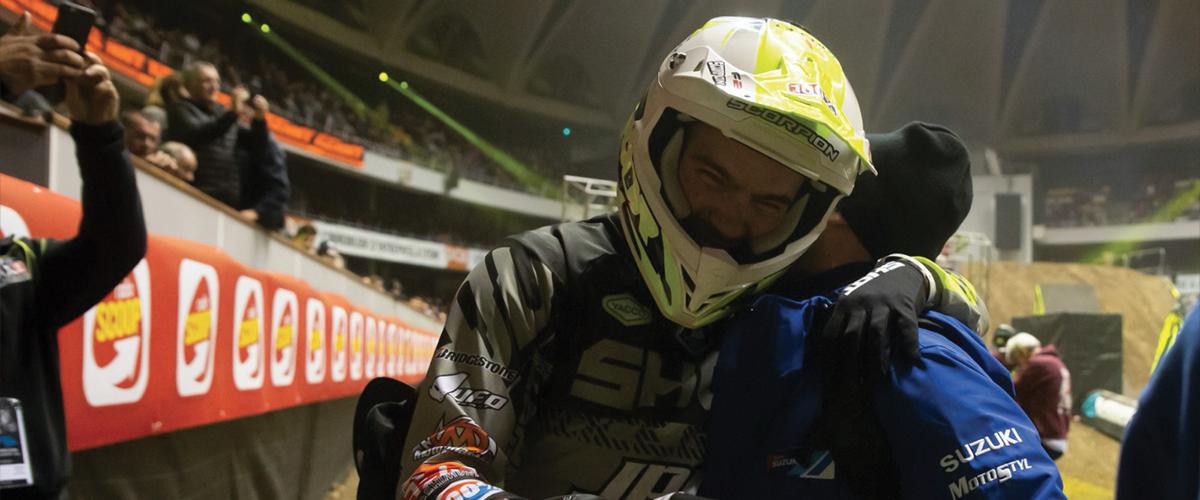 Thomas Ramette - Victoire et Podium au Supercross de Lyon 2019