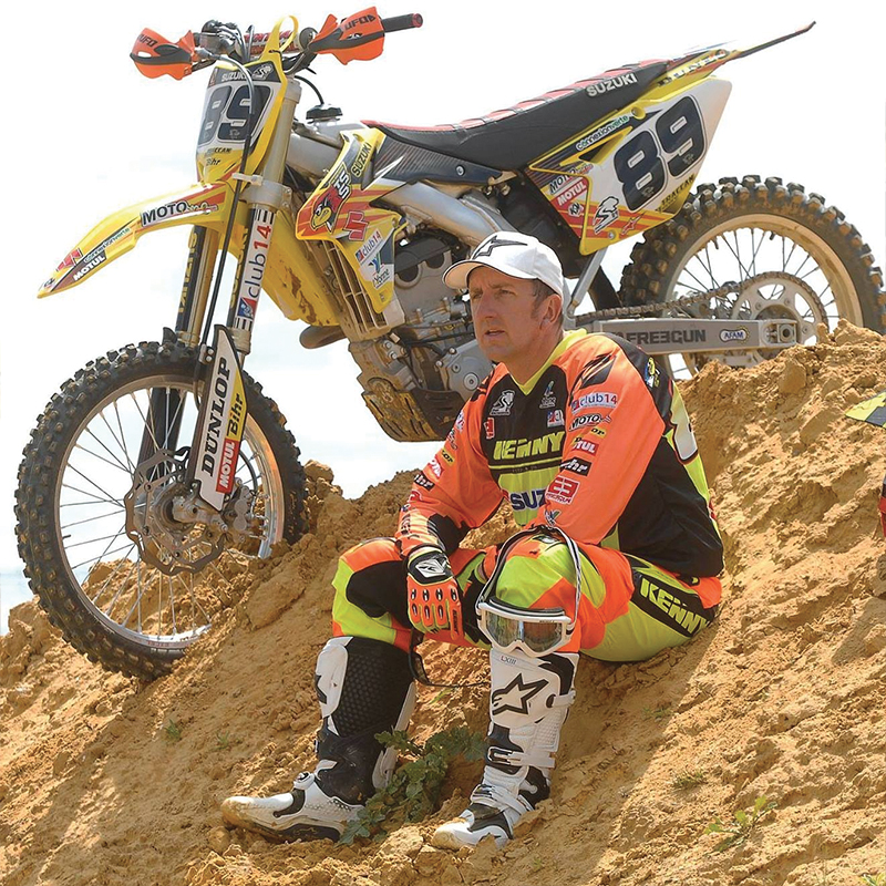 Thierry Traccan - Pilote du Moto Club Brienon