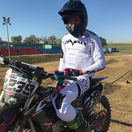 Tristan Bajard - Pilote du Moto Club Brienon