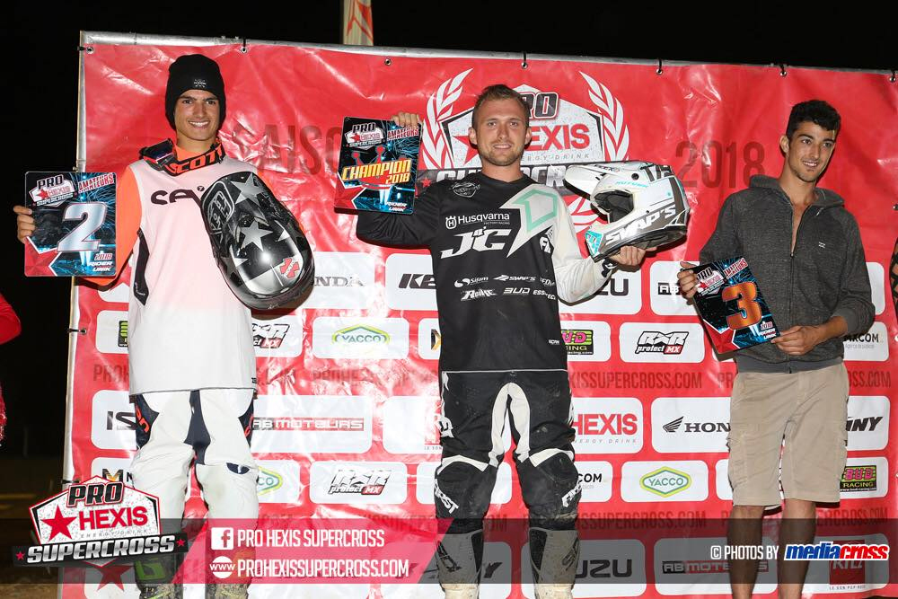 Tristan Bajard - Vice champion ProHexis 2018