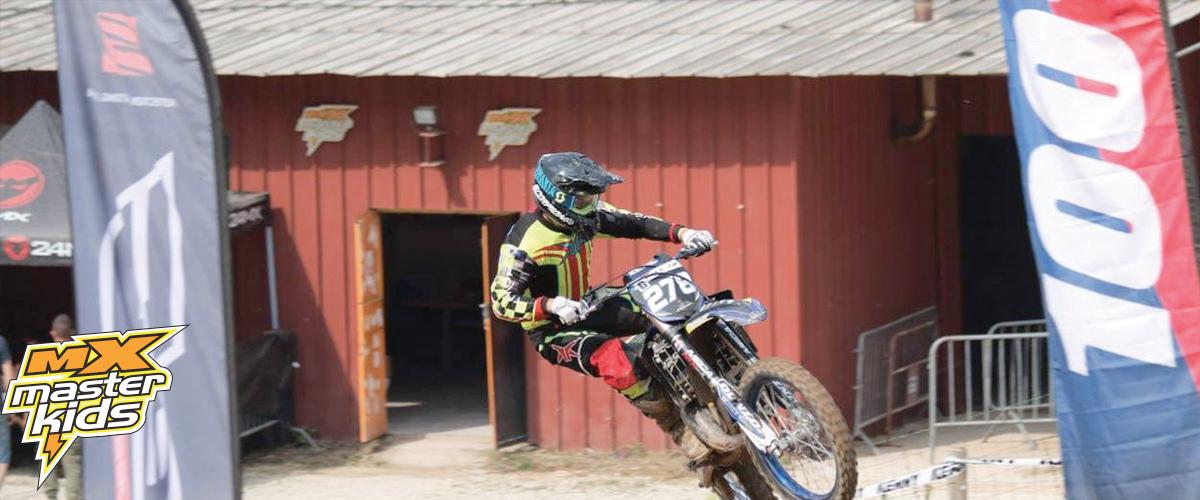 Jim Bry Pilote Moto Club Brienon au MasterKids 2018