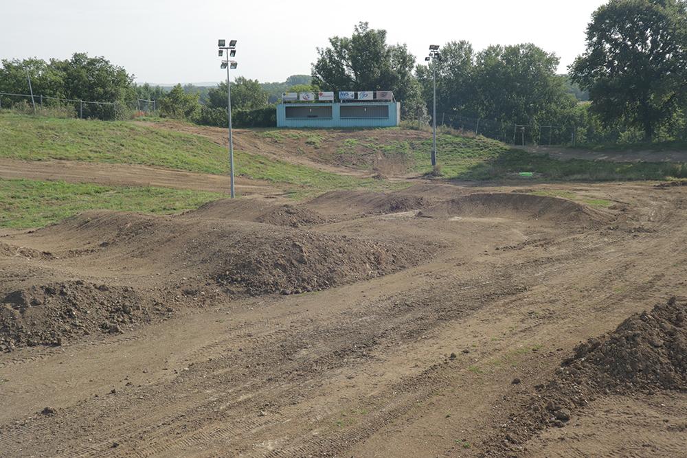 Piste du Supercross de l'Yonne